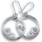 Adelaide - Сребърни обеци с Цирконий 137272-Сребърни бижута
