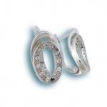 Marcella - Сребърни обеци с Цирконий 137754-Сребърни бижута