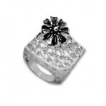Caridad - Сребърен пръстен без Камък 1515969.1-Сребърни бижута