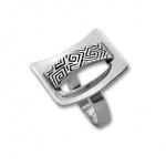 Keri - Сребърен пръстен без Камък 1535920-Сребърни бижута