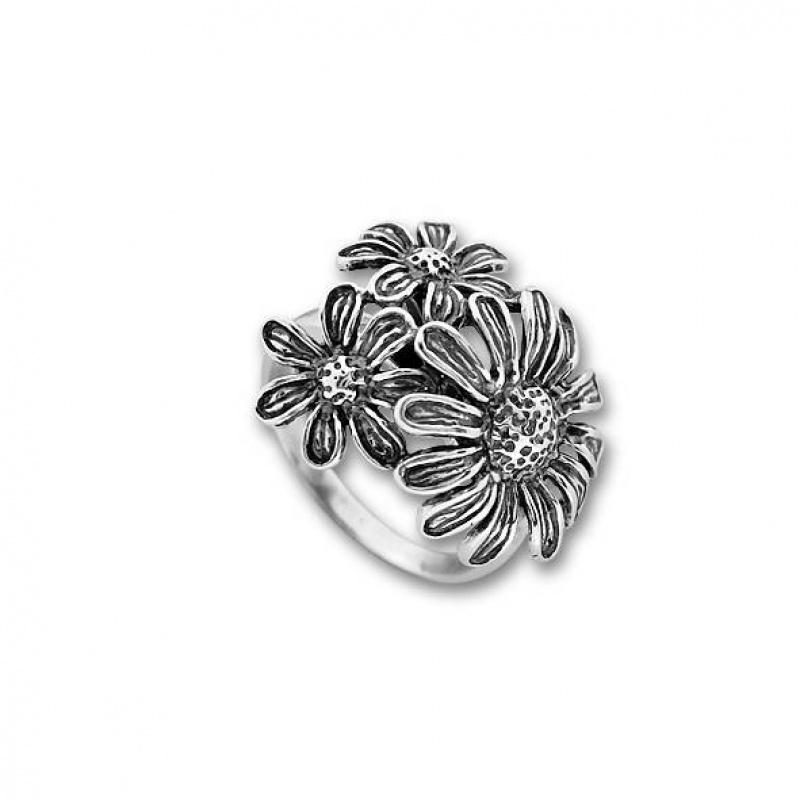 Astrid - Сребърен пръстен без Камък 1545219-Сребърни бижута