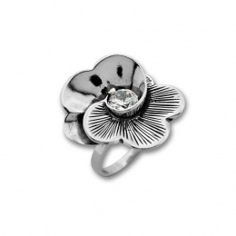 Candice - Сребърен пръстен с Цирконий 1585911-Сребърни бижута