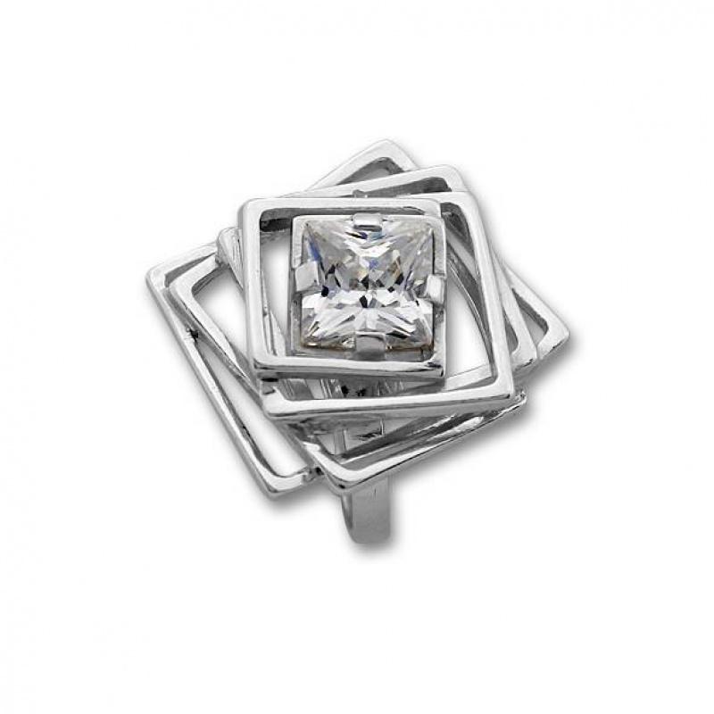 Janice - Сребърен пръстен с Цирконий 1595917-Пръстени