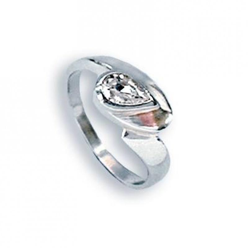 Loise - Сребърен пръстен с Цирконий 1604224-Сребърни бижута