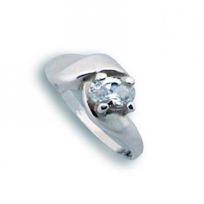 Juanita - Сребърен пръстен с Цирконий 1604333-Сребърни бижута