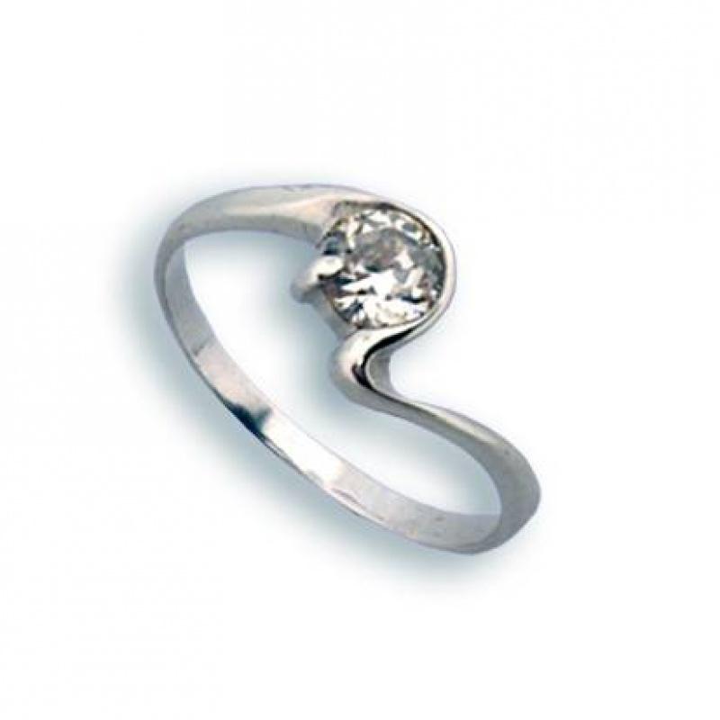 Yolanda - Сребърен пръстен с Цирконий 1604376-Сребърни бижута