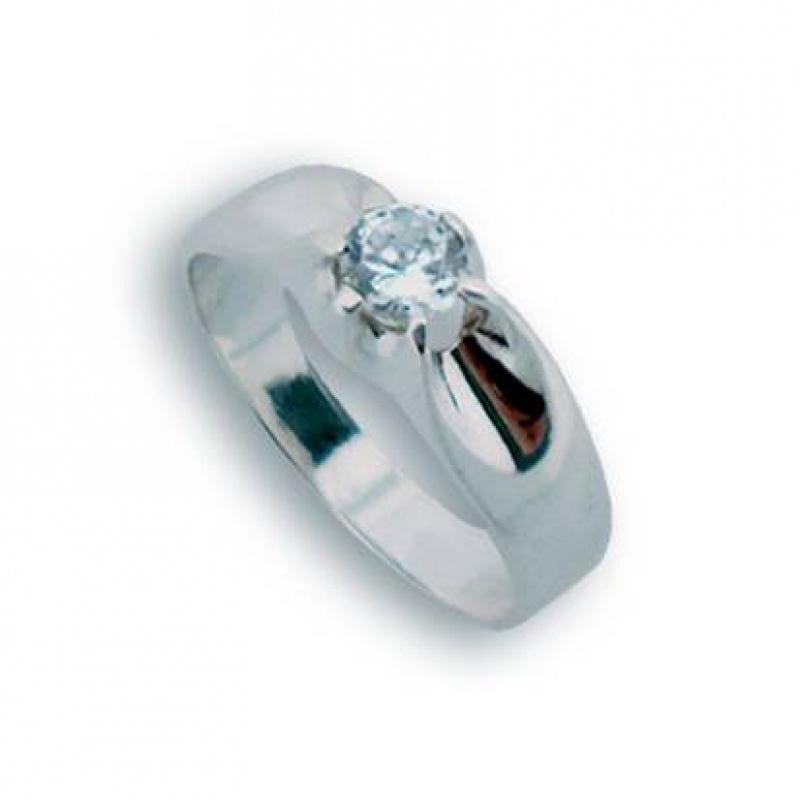 Margie - Сребърен пръстен с Цирконий 1604503-Сребърни бижута