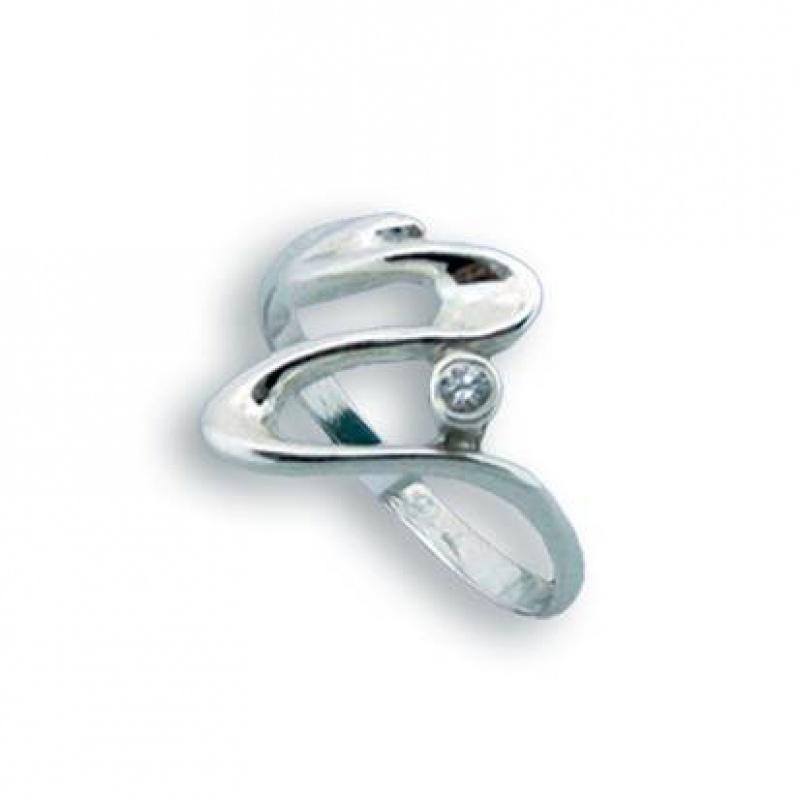 Cheryl - Сребърен пръстен с Цирконий 1604739-Сребърни бижута