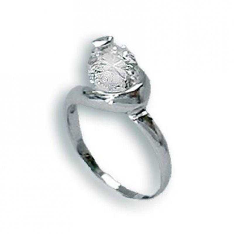 Shannon - Сребърен пръстен с Цирконий 1604743-Сребърни бижута