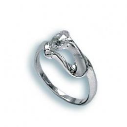 Tonya - Сребърен пръстен с Цирконий 1604864-Сребърни бижута