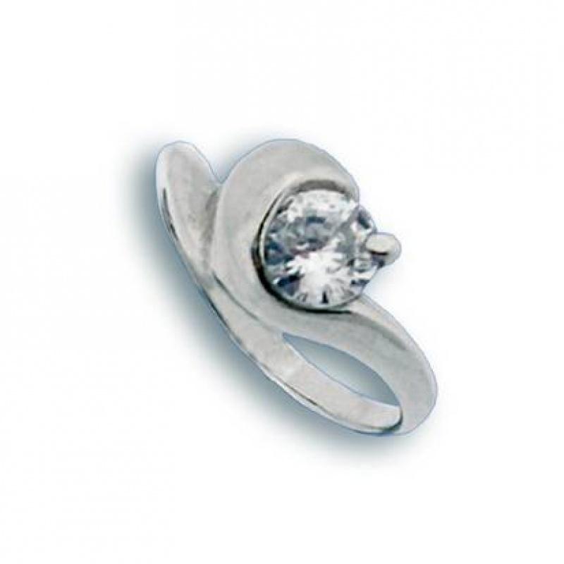 Monica - Сребърен пръстен с Цирконий 1604880-Сребърни бижута