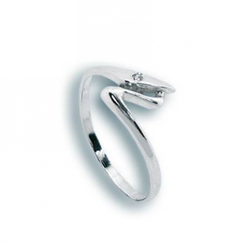 Judy - Сребърен пръстен с Цирконий 1604985-Сребърни бижута