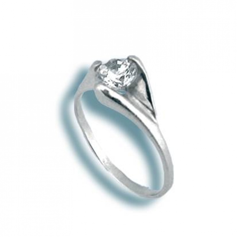 Susan - Сребърен пръстен с Цирконий 1605021-Сребърни бижута