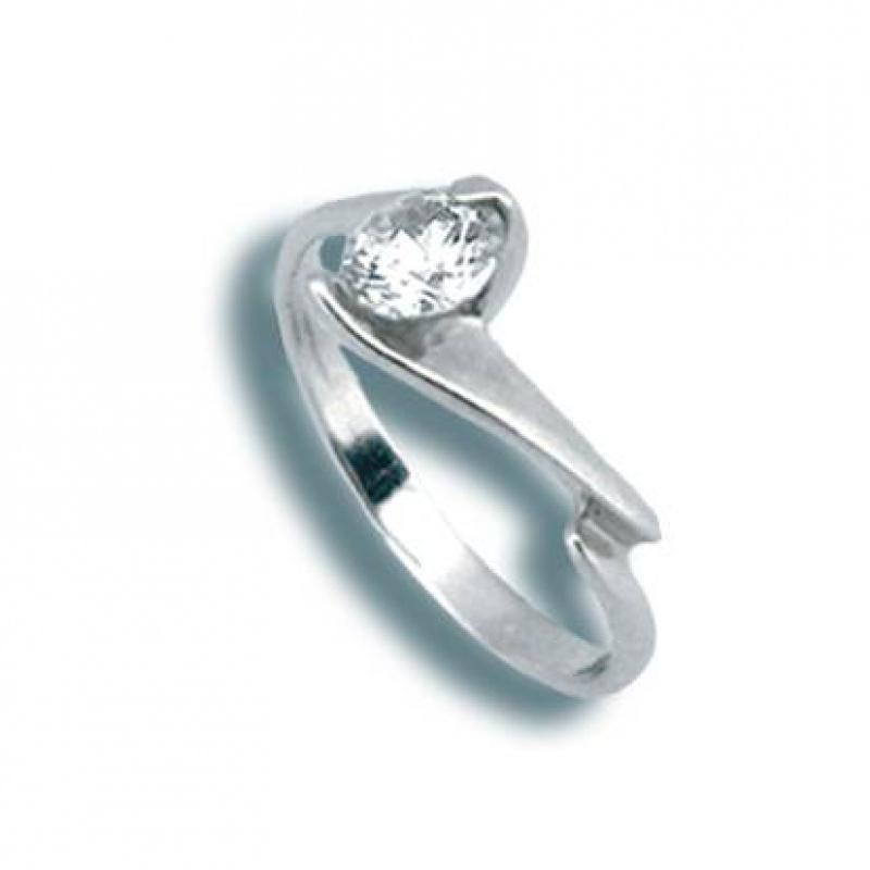 Jean - Сребърен пръстен с Цирконий 1605023-Сребърни бижута