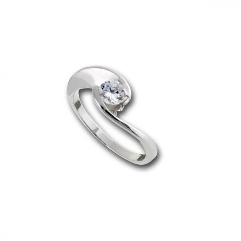 Miriam - Сребърен пръстен с Цирконий 1605201-Сребърни бижута