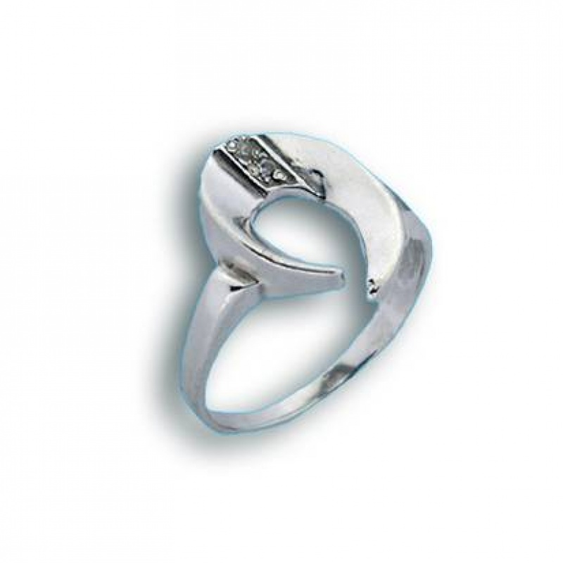 Alicia - Сребърен пръстен с Цирконий 1605432-Сребърни бижута