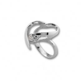 Eleanor - Сребърен пръстен с Цирконий 1595924-Сребърни бижута