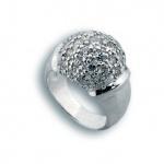 Rachel - Сребърен пръстен с Цирконий 1614838-Сребърни бижута