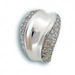 Felicia - Сребърен пръстен с Цирконий 1614885-Сребърни бижута