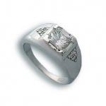 Pamela - Сребърен пръстен с Цирконий 1614926-Сребърни бижута