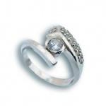 Arlene - Сребърен пръстен с Цирконий 1614927-Сребърни бижута