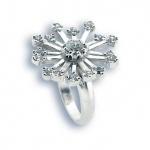 Samara - Сребърен пръстен с Цирконий 1614964-Сребърни бижута