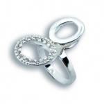 Loretta - Сребърен пръстен с Цирконий 1615039-Сребърни бижута