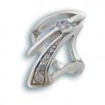 Melody - Сребърен пръстен с Цирконий 1615132-Сребърни бижута