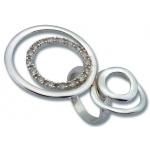 Bonnie - Сребърен пръстен с Цирконий 1615206-Сребърни бижута