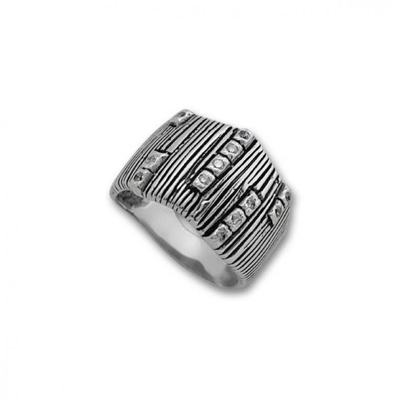 Lola - Сребърен пръстен с Цирконий 1615217-Сребърни бижута