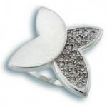 Francis - Сребърен пръстен с Цирконий 1615550-Сребърни бижута