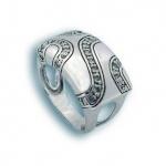 Angelina - Сребърен пръстен с Цирконий 1615555-Сребърни бижута