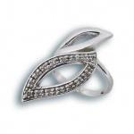 Roxanne - Сребърен пръстен с Цирконий 1615627-Сребърни бижута