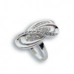 Sadie - Сребърен пръстен с Цирконий 1615739-Сребърни бижута