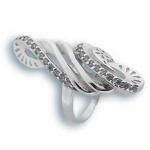 Mable - Сребърен пръстен с Цирконий 1615740-Сребърни бижута