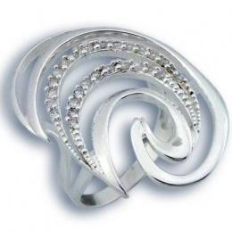 Bernadette - Сребърен пръстен с Цирконий 1615792-Сребърни бижута