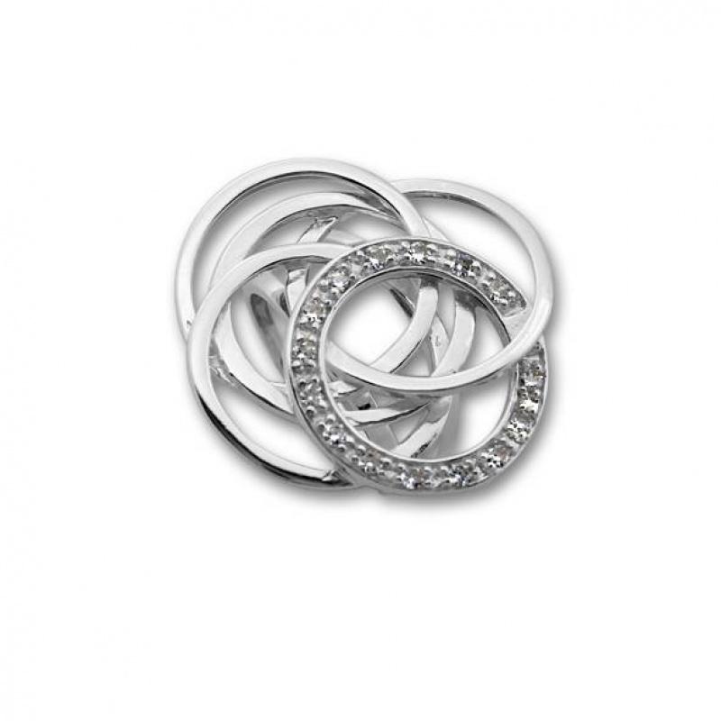 Delia - Сребърен пръстен с Цирконий 1615927-Сребърни бижута