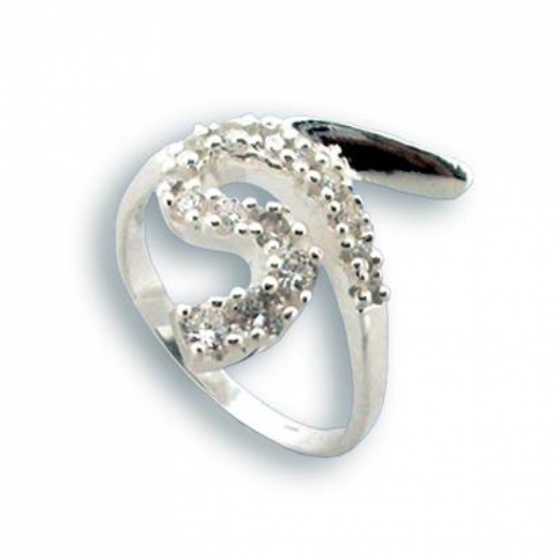 Patti - Сребърен пръстен с Цирконий 1624774-Сребърни бижута