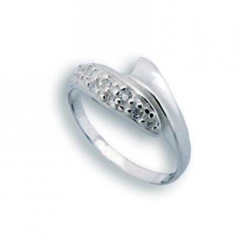 Miranda - Сребърен пръстен с Цирконий 1624777-Сребърни бижута