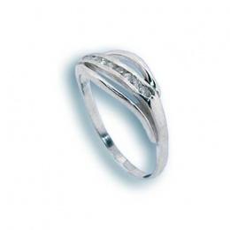 Bonita - Сребърен пръстен с Цирконий 1624980-Сребърни бижута