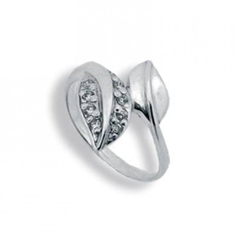 Abigail - Сребърен пръстен с Цирконий 1625015-Сребърни бижута