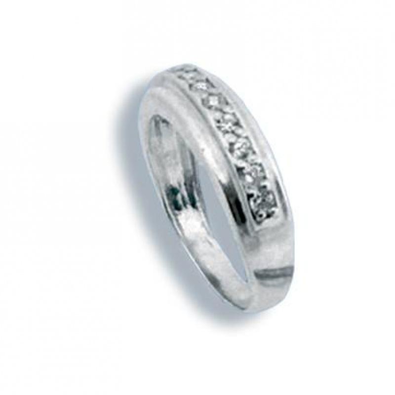Laverne - Сребърен пръстен с Цирконий 1625024-Сребърни бижута