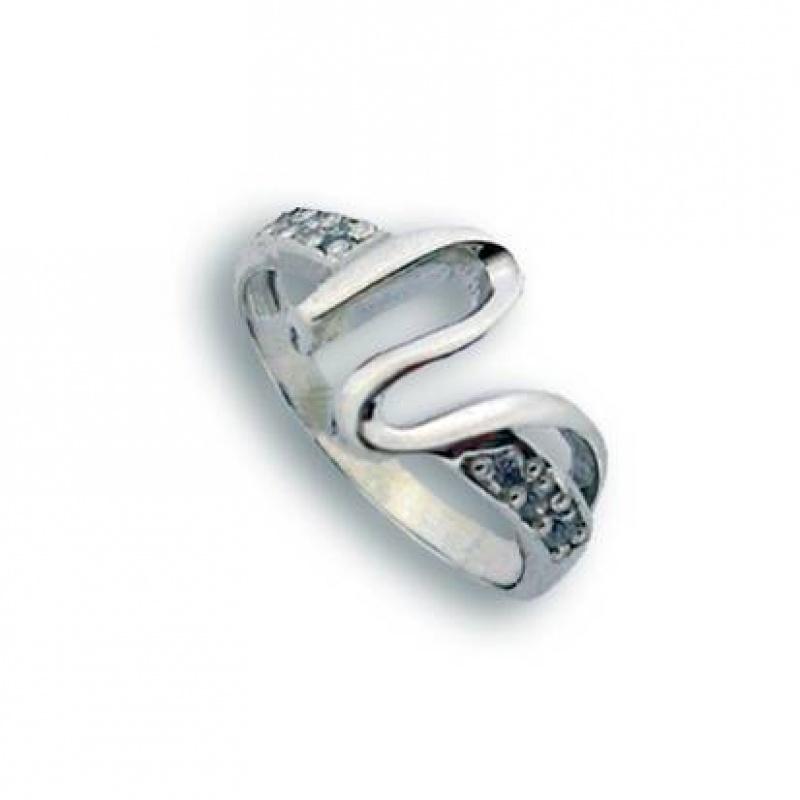 Eugenia - Сребърен пръстен с Цирконий 1625413-Сребърни бижута