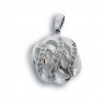 Trudy - Сребърна висулка с Цирконий 173743-Сребърни бижута
