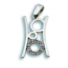 Jillian - Сребърна висулка с Цирконий 174775-Сребърни бижута