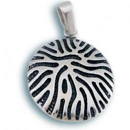 Glenda - Сребърна висулка без Камък 180752-Сребърни бижута