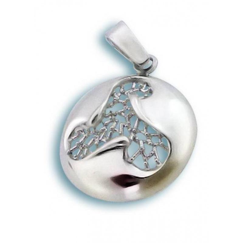 Amadine - Сребърна висулка без Камък 180773-Сребърни бижута
