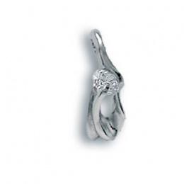 Tonya - Сребърна висулка с Цирконий 184135-Сребърни бижута