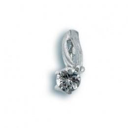 Brenda - Сребърна висулка с Цирконий 184148-Сребърни бижута