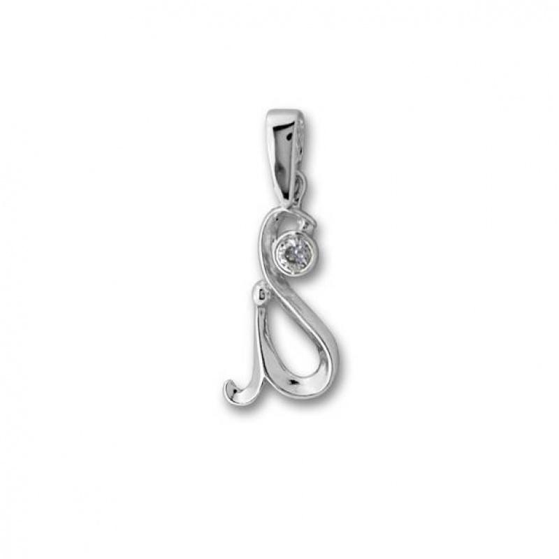 Augusta - Сребърна висулка с Цирконий 184488-Сребърни бижута